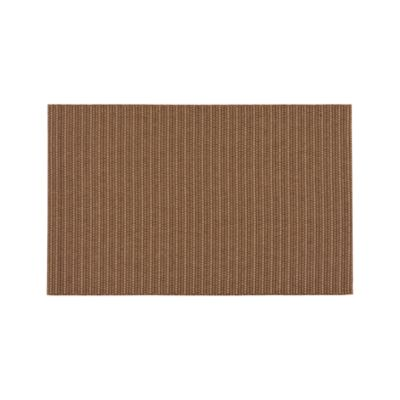 Grid Brown Indoor-Outdoor 3'x5' Rug