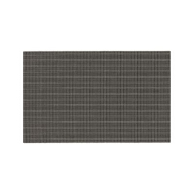 Grid Grey Indoor-Outdoor 5'x8' Rug