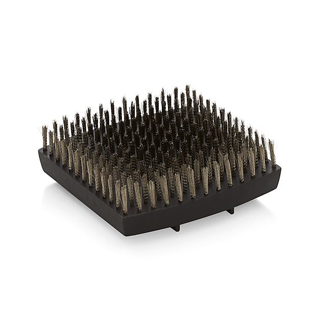 Wood Handled Grill Brush Replacement Head