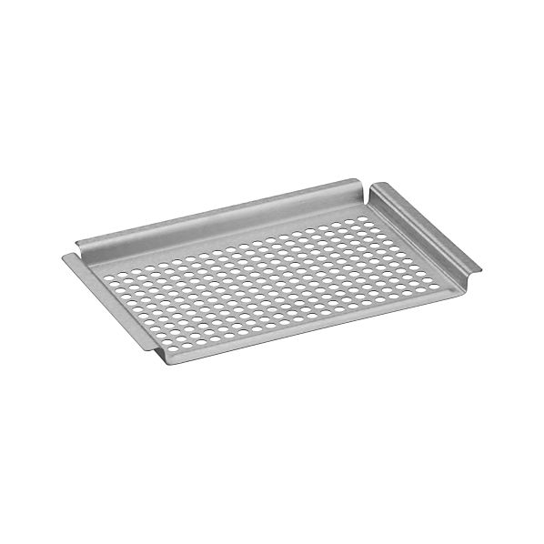 Brushed Stainless Steel Grill Half-Grid