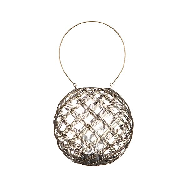 Hadley Brass Lantern