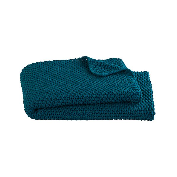 Hailey Teal Throw