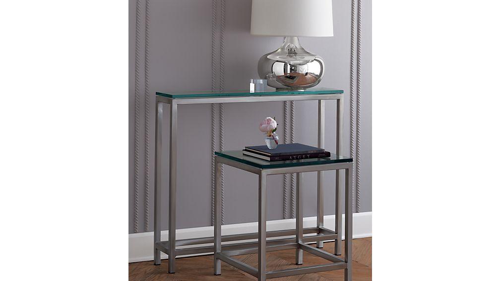 Era Glass Side Table
