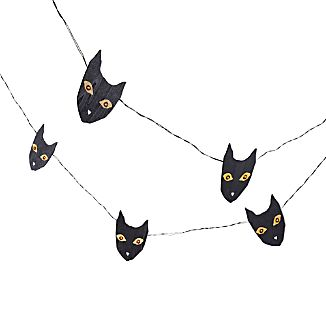 Halloween Cat String Lights