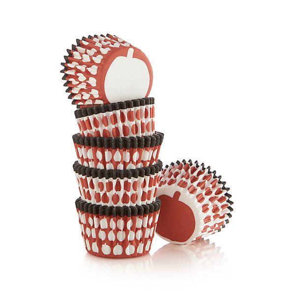 Set of 96 Halloween Mini Cupcake Papers