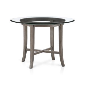 Halo Grey Dining Table with 42