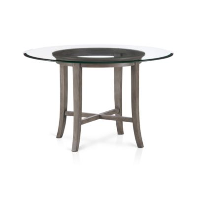 Halo Grey Dining Table with 48