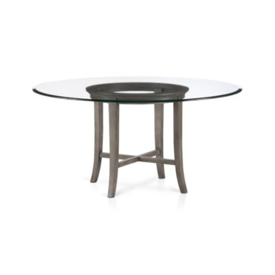 Halo Grey Dining Table with 60
