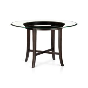 Halo Ebony Dining Table with 48