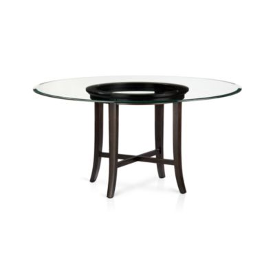 Halo Ebony Dining Table with 60
