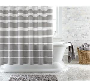Loop Light Grey Bath Rug