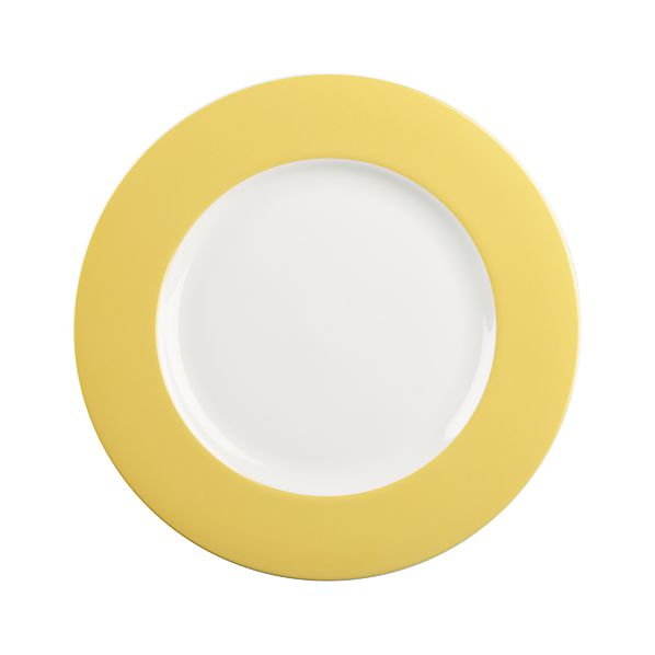 Hamptons Yellow Dinner Plate