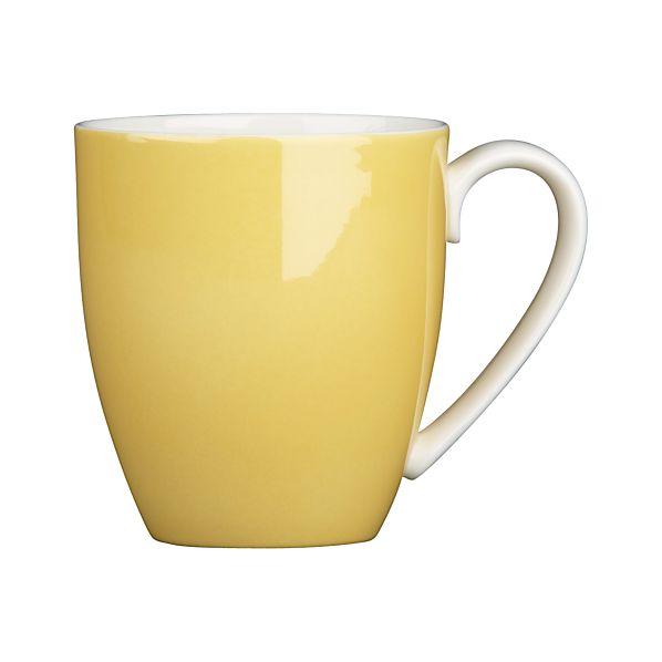Hamptons Yellow Mug