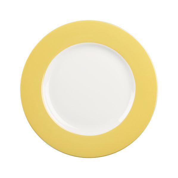 Hamptons Yellow Salad Plate