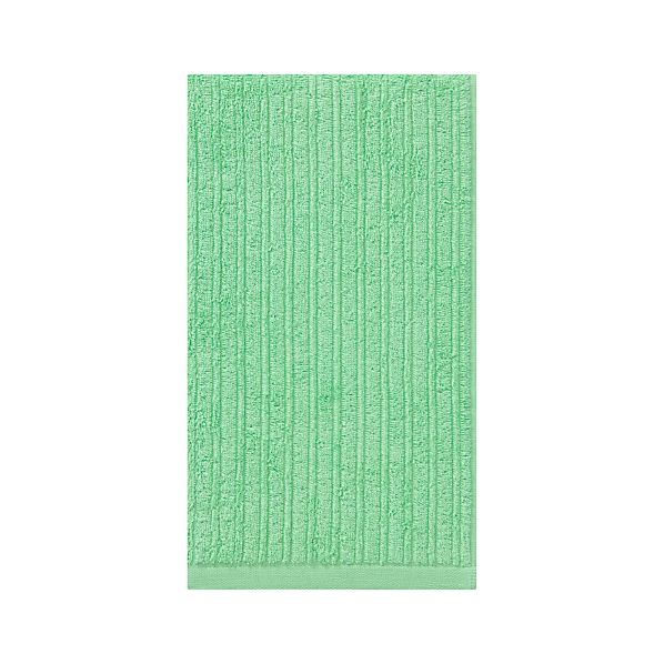 Ribbed Mint Hand Towel