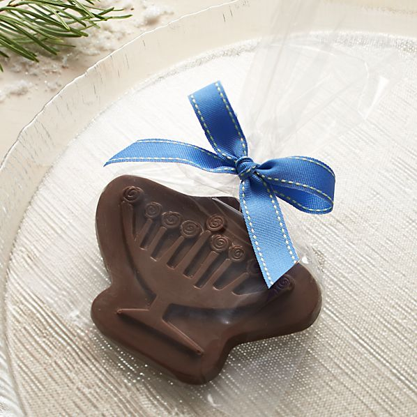 Hanukkah Milk Chocolate Menorah