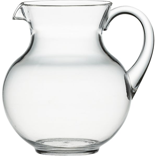 Happy Acrylic Pitcher