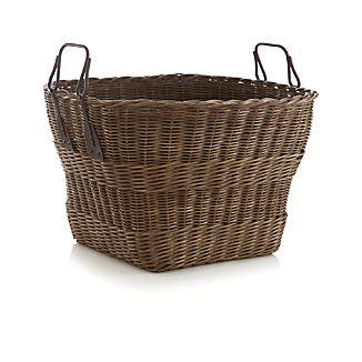 Harbert Basket with Metal Handles
