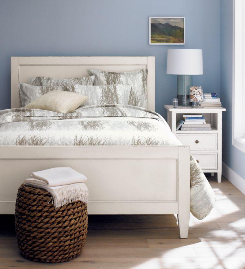 Harbor White Bed