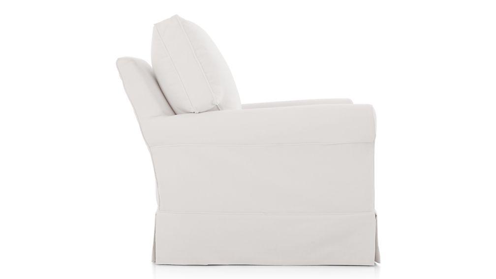 Harborside Slipcovered 360 Swivel Chair