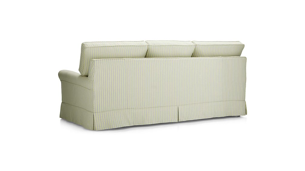 Harborside Stripe Slipcovered 3-Seat Sofa