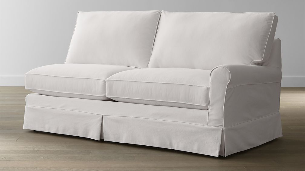 Harborside Slipcovered Right Arm Sofa