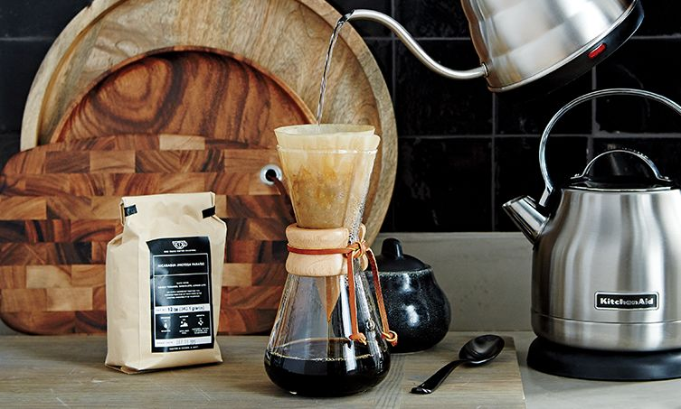 Chemex Coffee Maker and Hario V60