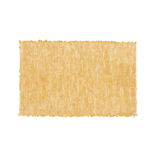 "Harriet Yellow 30""x50"" Rug"