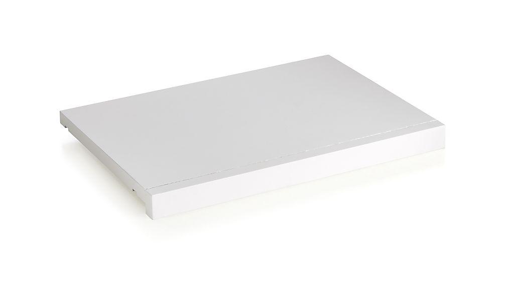 """Harrison Modular 18"""" White Shelf"""