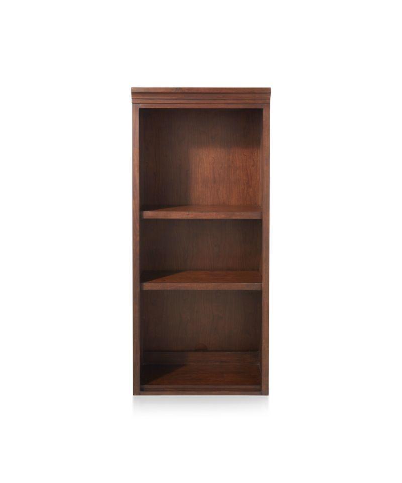 """Harrison 24"""" Cherry Open Bookcase Hutch"""
