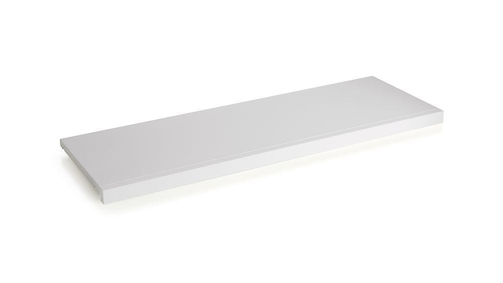 """Harrison 36"""" White Modular Shelf"""