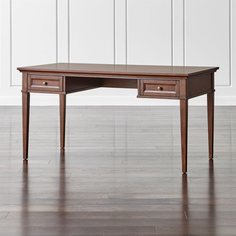 "Harrison 60"" Cherry Desk with Drawers"
