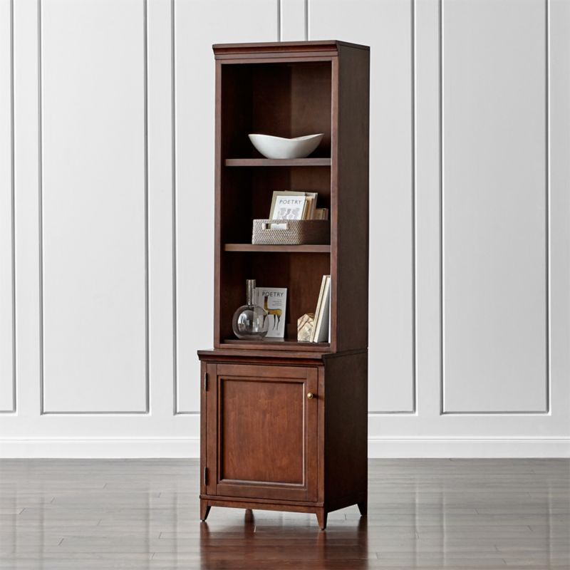 "Harrison 2-pc Cherry 24"" Open Top Bookcase"