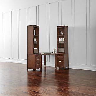 Harrison 5-pc Cherry Corner Desk Office Suite