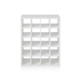 Harrison White Modular Wine Rack Insert