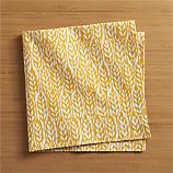 Harvest Yellow Dinner Napkin