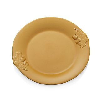 "Harvest 11.25"" Yellow Dinner Plate"