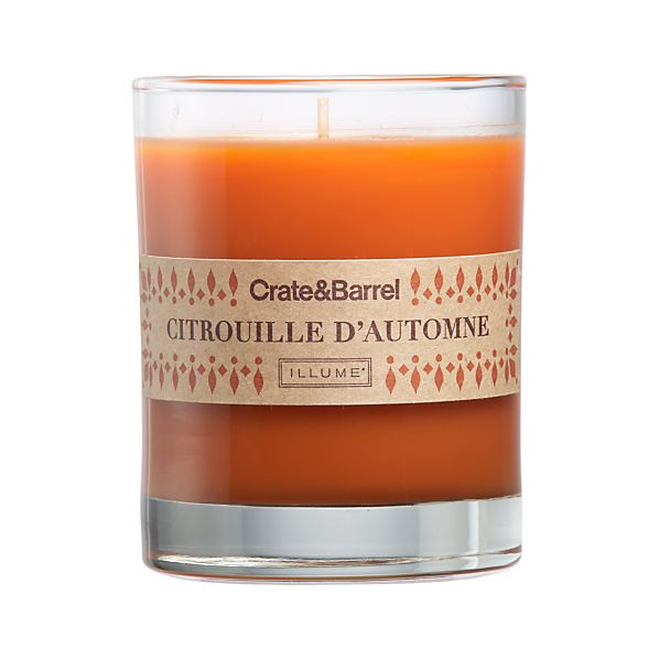 Harvest Pumpkin Scented Candle