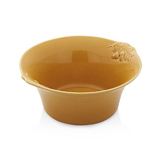 Harvest Yellow Serving Bowl