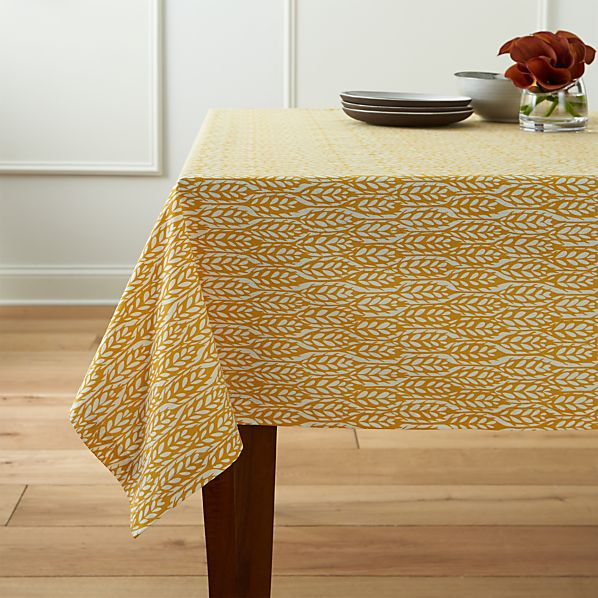 Harvest Yellow Tablecloth