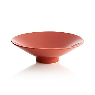 Harvey Orange Centerpiece Bowl