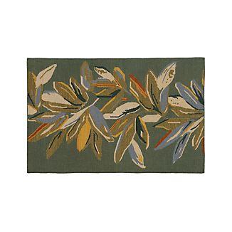 Hattie Floral Wool 5'x8' Rug