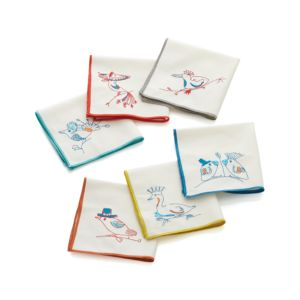 Set of 6 Hattie Cocktail Napkins