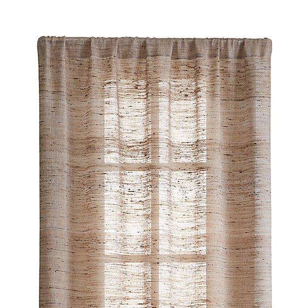 "Hayden 48""x96"" Silk Curtain Panel"