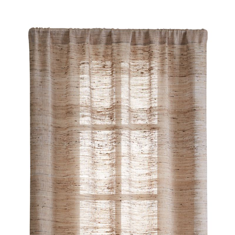 "Hayden 48""X84"" Silk Curtain Panel"