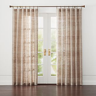 Hayden Silk Curtains