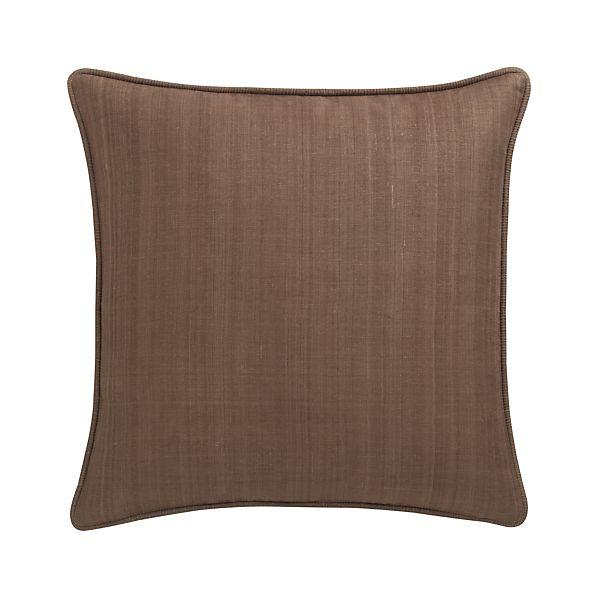 "Hayward Mocha 18"" Pillow"