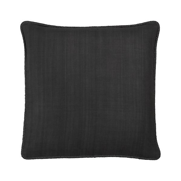 "Hayward Charcoal 18"" Pillow"