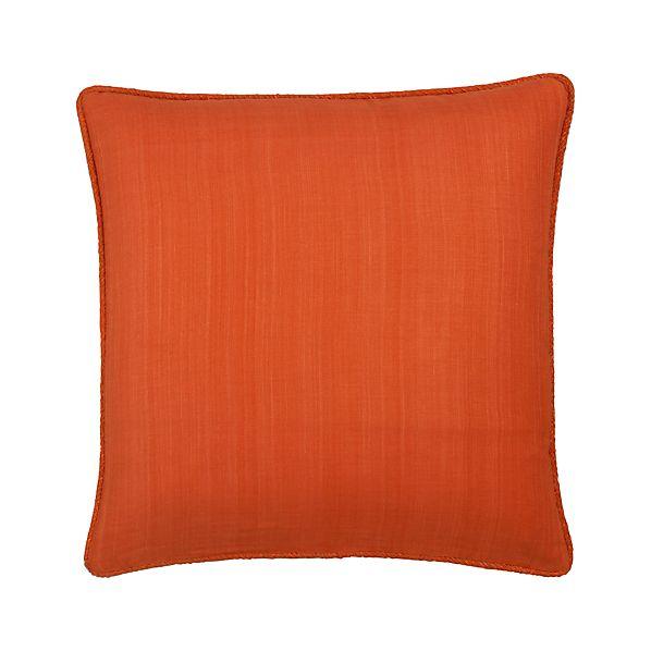 "Hayward Orange 18"" Pillow"