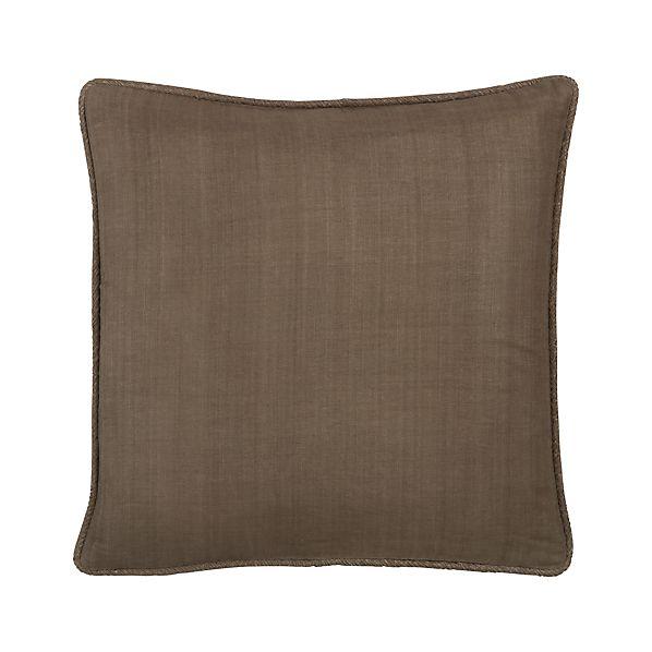 "Hayward Taupe 18"" Pillow"